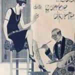 L'allegra moda delle gambe dipinte