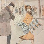1920 le donne e la loro instancabile corsa ai regali natalizi